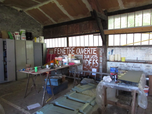 Atelier de fabrication de meubles de récup