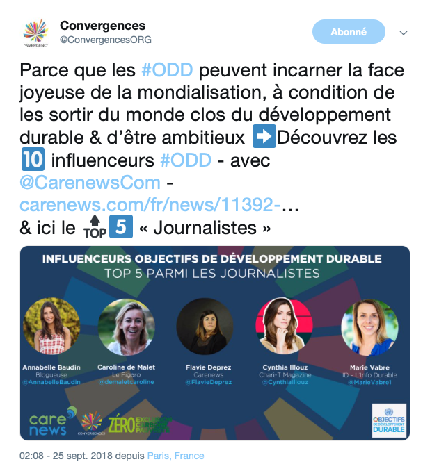 capture tweet influenceurs